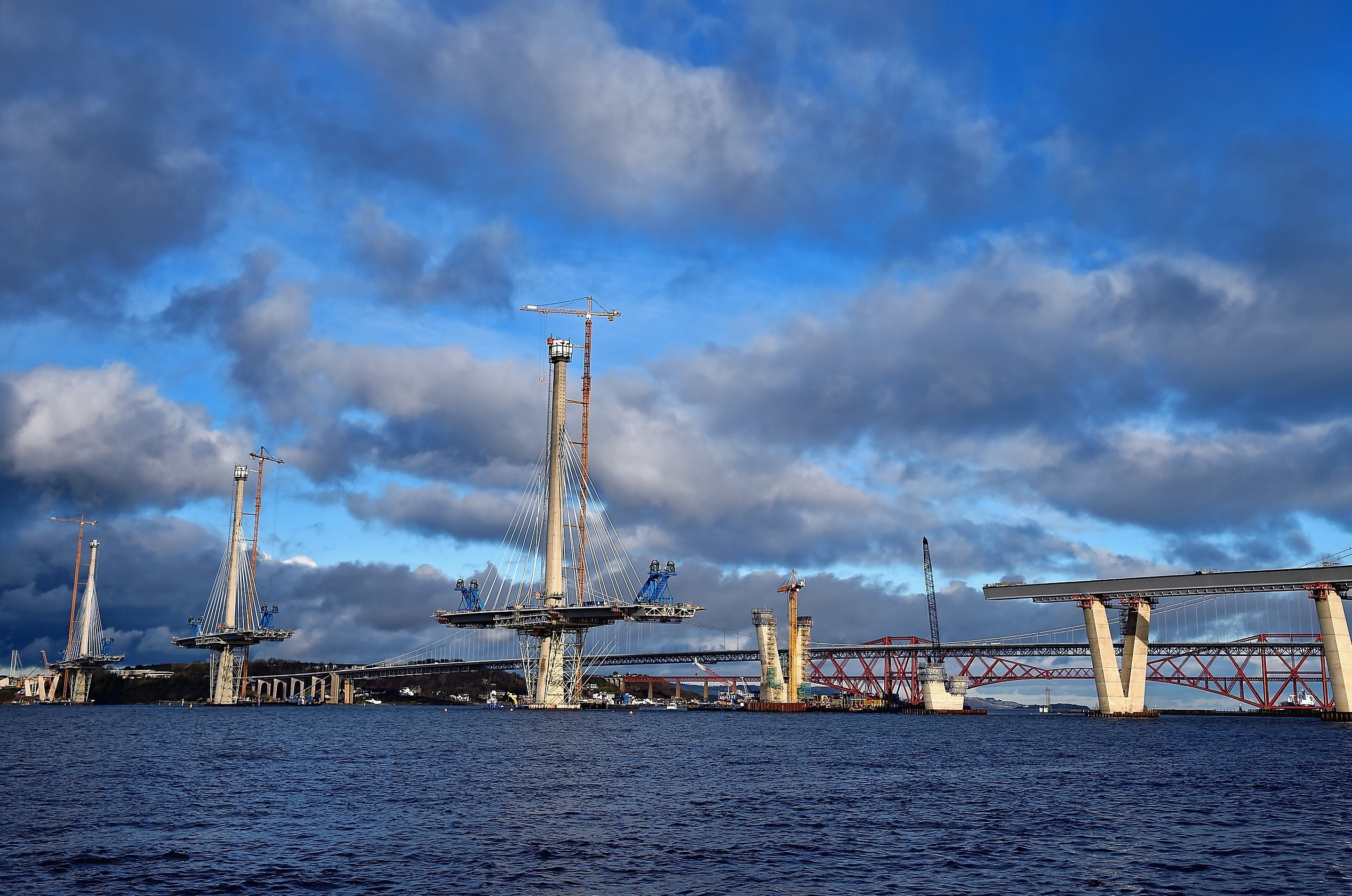 The new Forth crossing (Jeff J Mitchell/Getty Images)