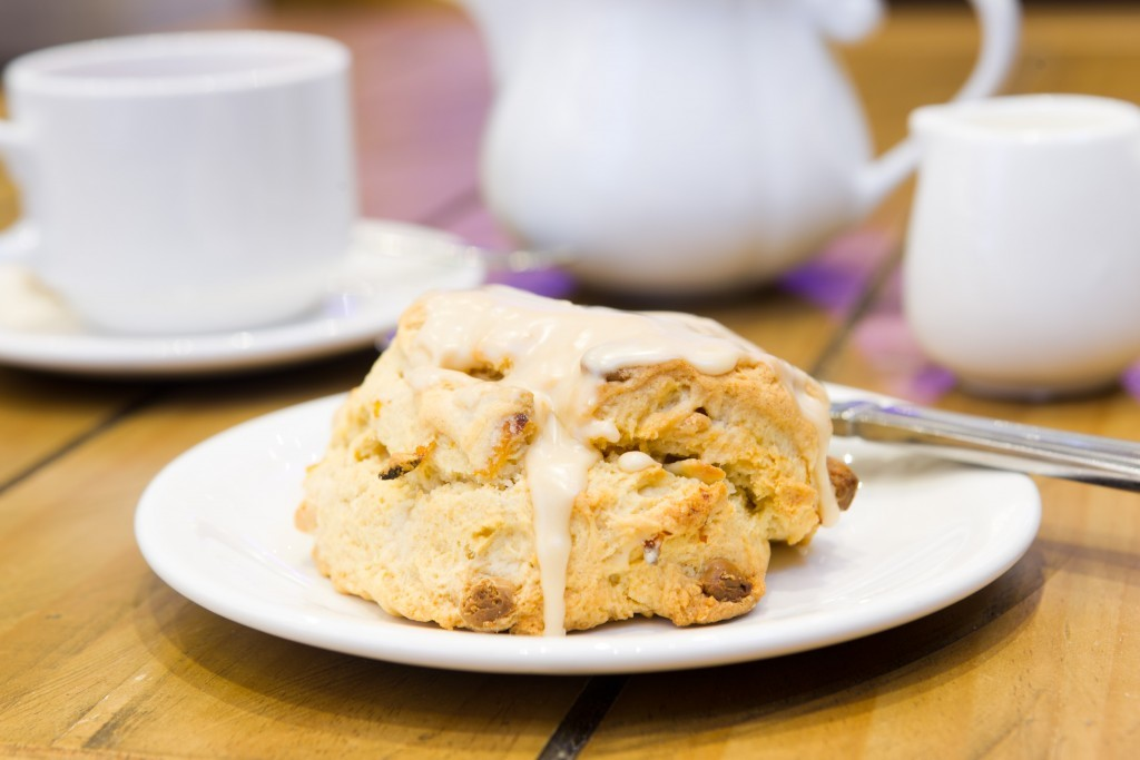 The apricot and white chocolate scone  (Andrew Cawley / DC Thomson)