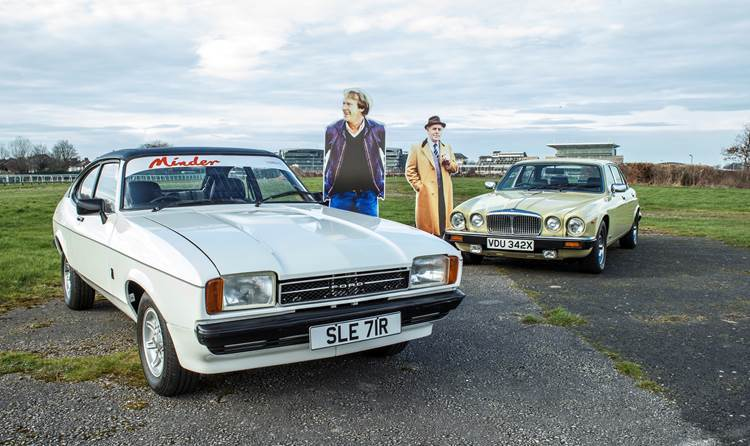 The Minder cars are up for sale