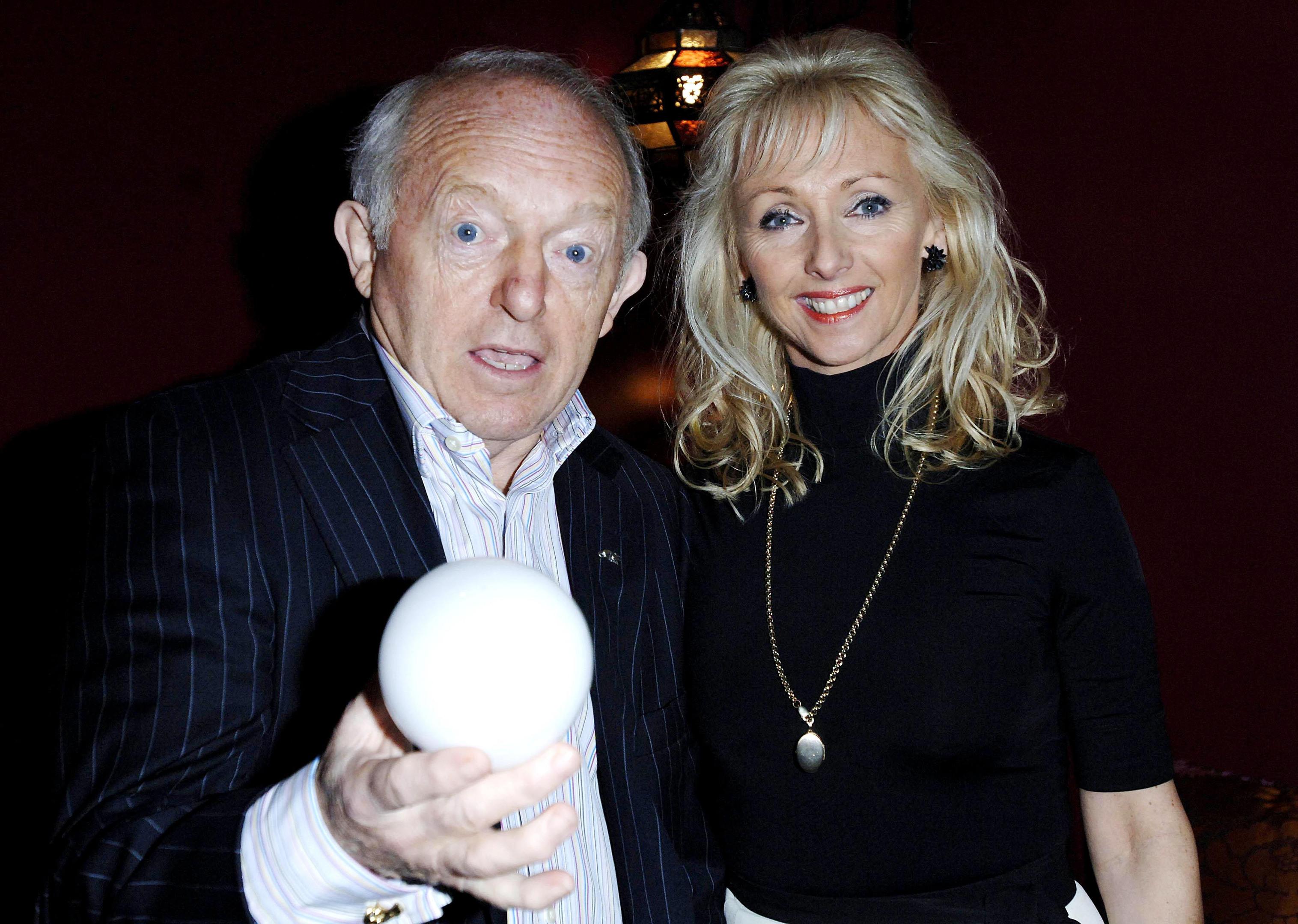 Paul Daniels and wife Debbie McGee (Joel Ryan/PA Wire)
