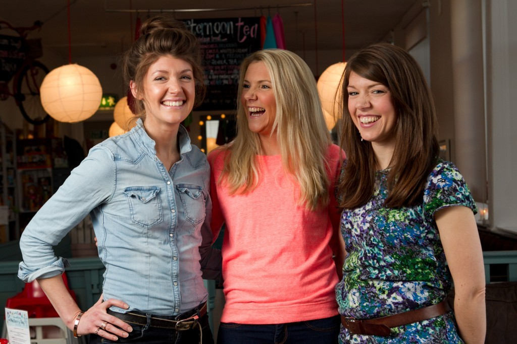 (L-R) Linsey, Gillian and Nichola (Andrew Cawley / DC Thomson)