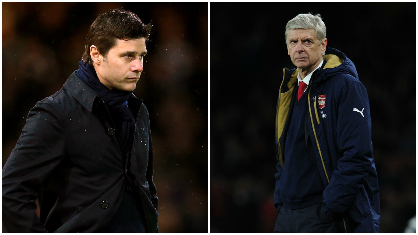 Spurs and Arsenal face each other this weekend (PA Wire & Getty Images)