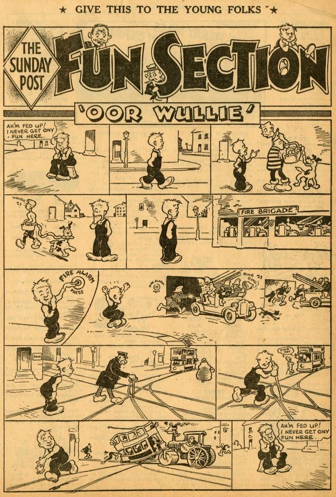 Oor Wullie 1938-03-08