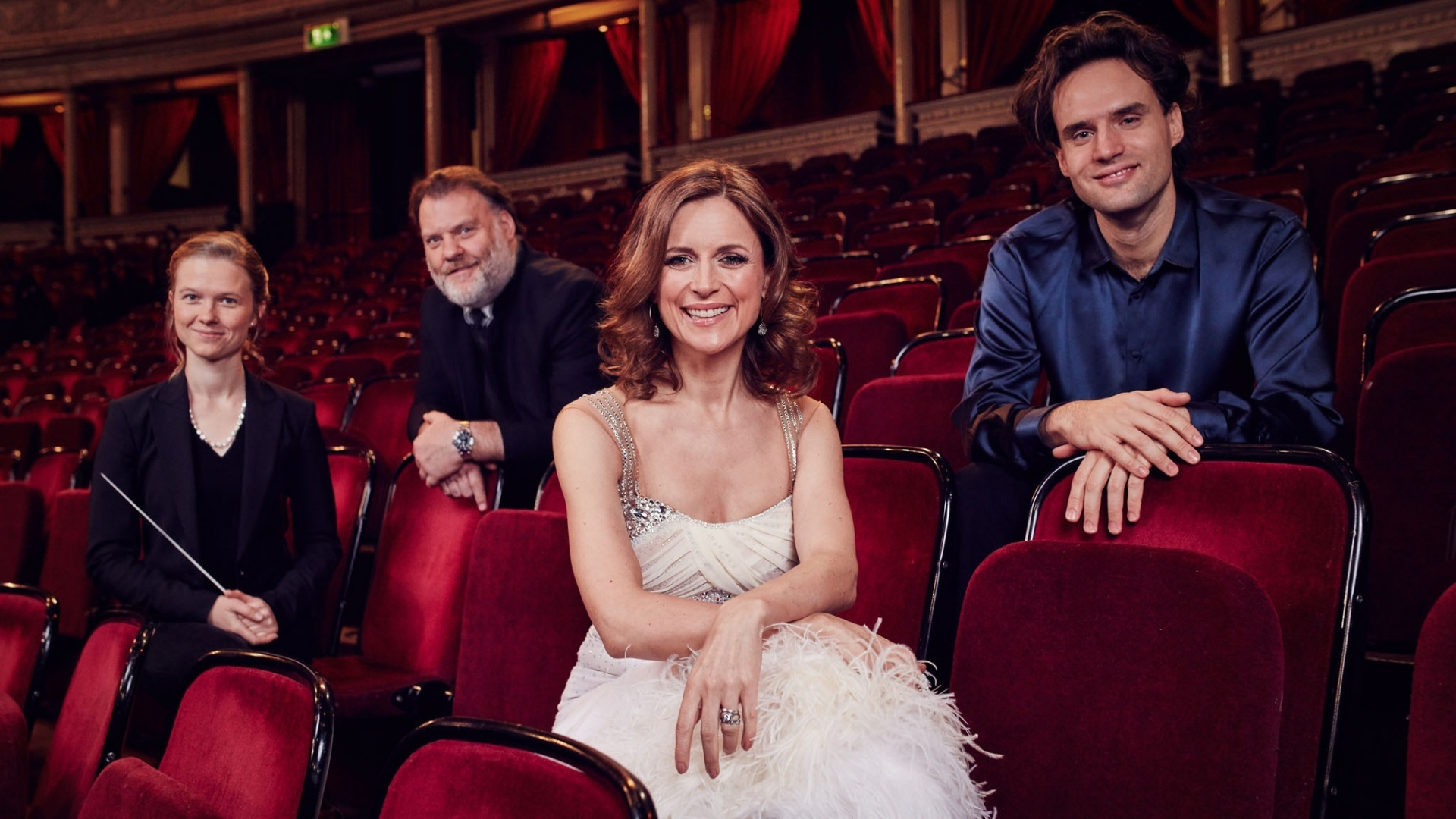 Katie Derham will dance in the special Proms performance (PA)