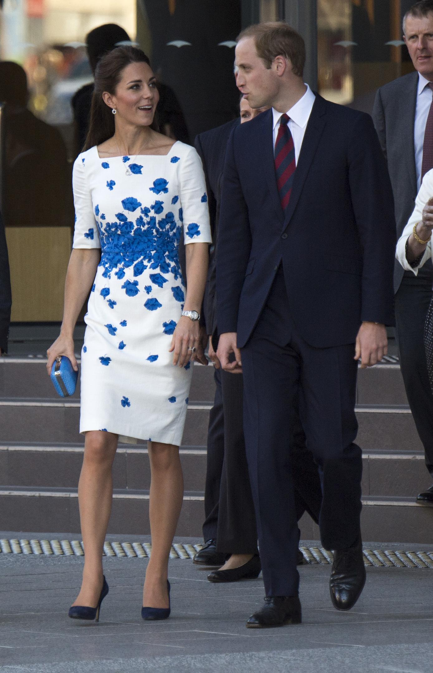 The Duke and Duchess of Cambridge (Arthur Edwards/The Sun)