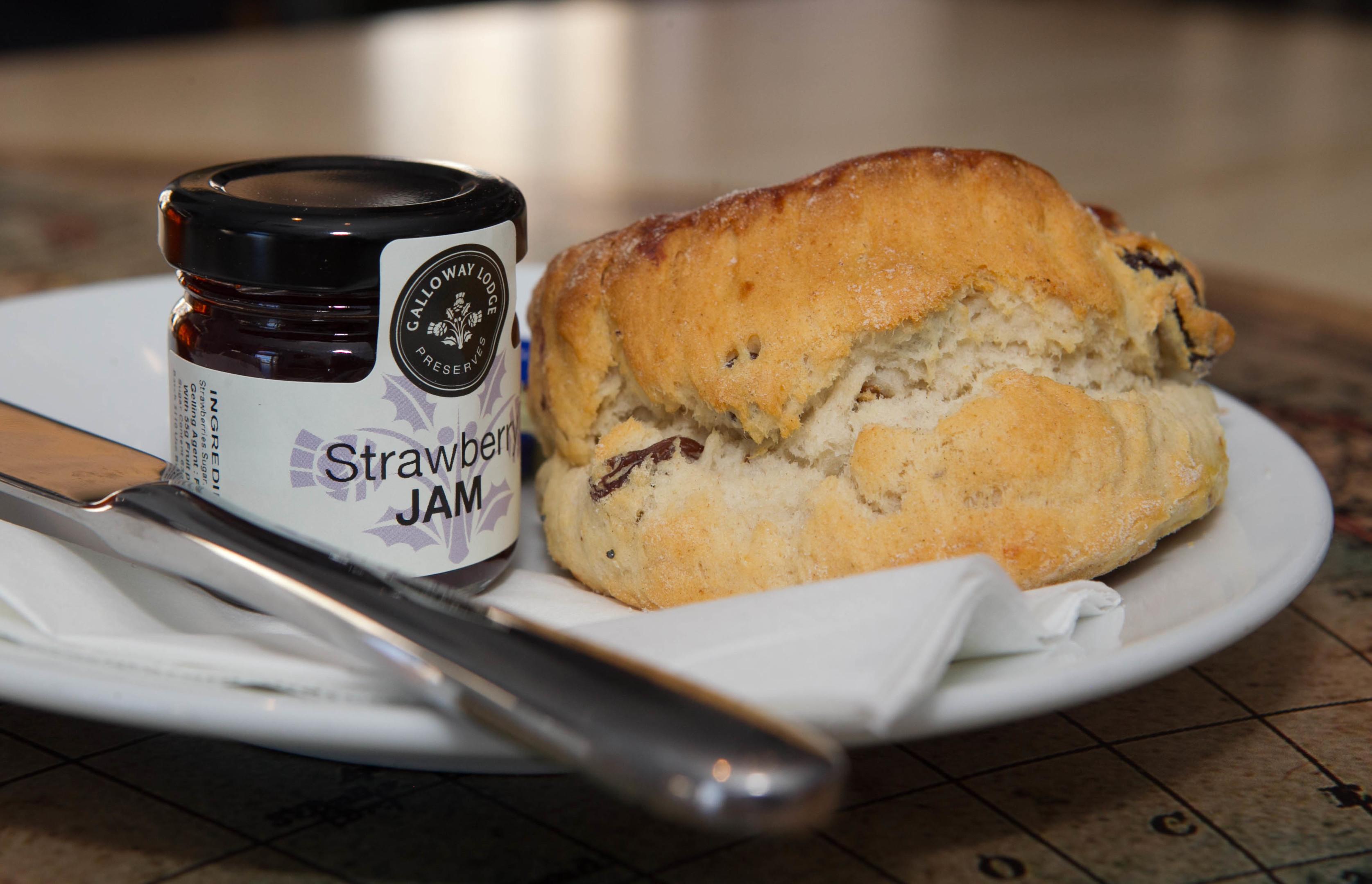 Rabbie's Cafe's scone (Chris Austin / DC Thomson)