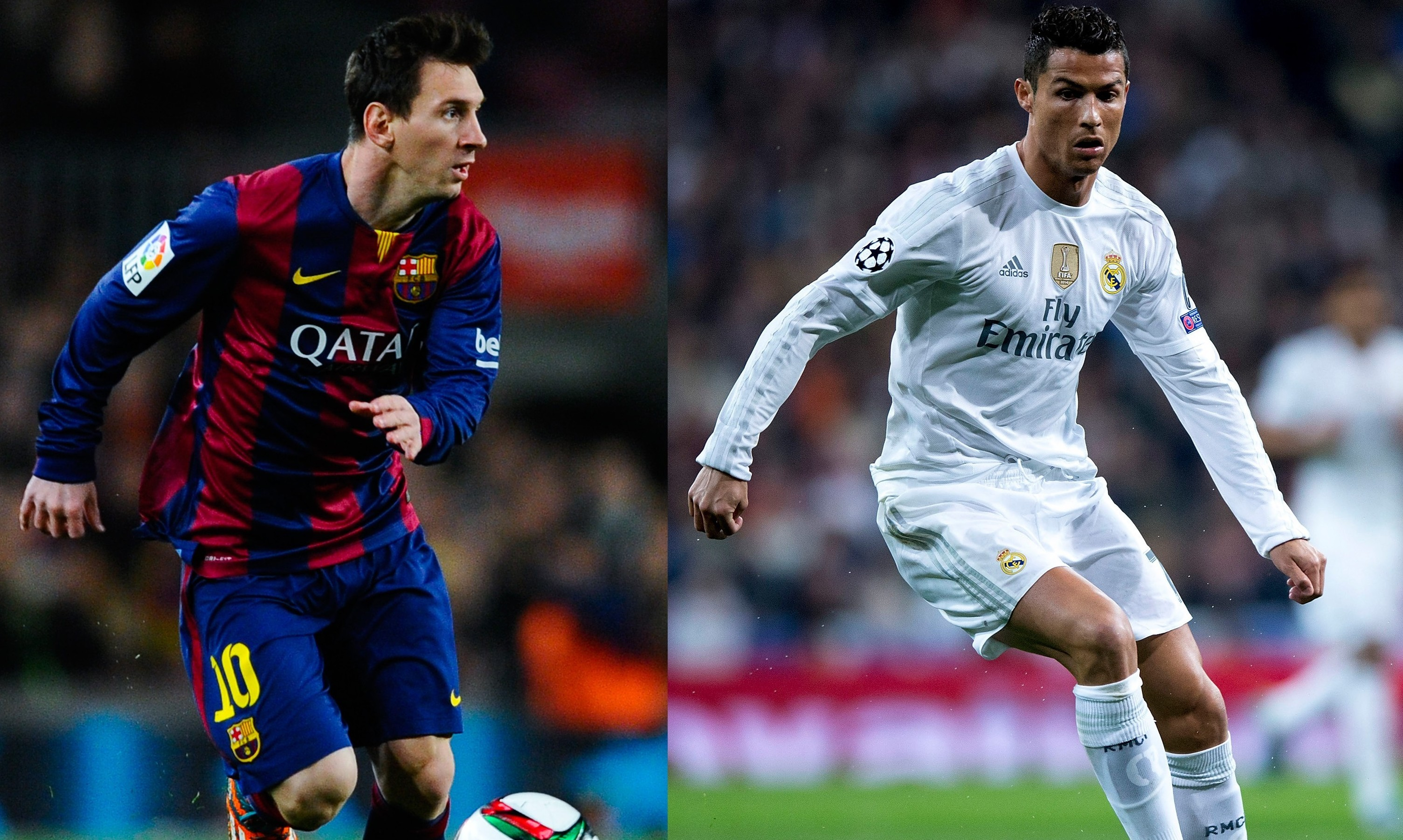 Messi and Ronaldo (Getty Images)