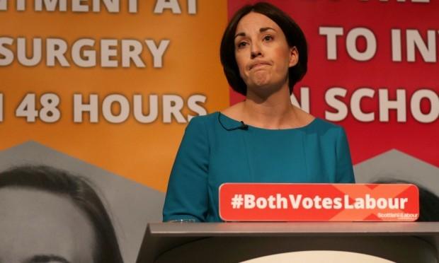 Scottish Labour leader Kezia Dugdale launches her party's manifesto (David Cheskin/PA Wire)