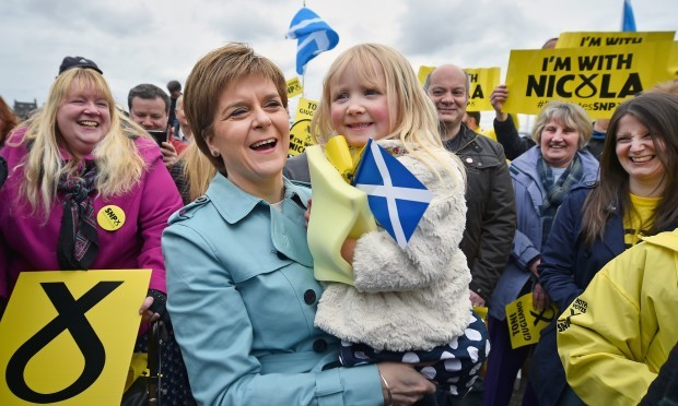 SNP leader Nicola Sturgeon (Jeff J Mitchell/Getty Images)