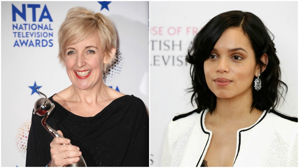 Julie Hesmondhalgh (left) and Georgina Campbell join the cast (Ian Gavan/Getty Images & John Phillips/Getty Images)