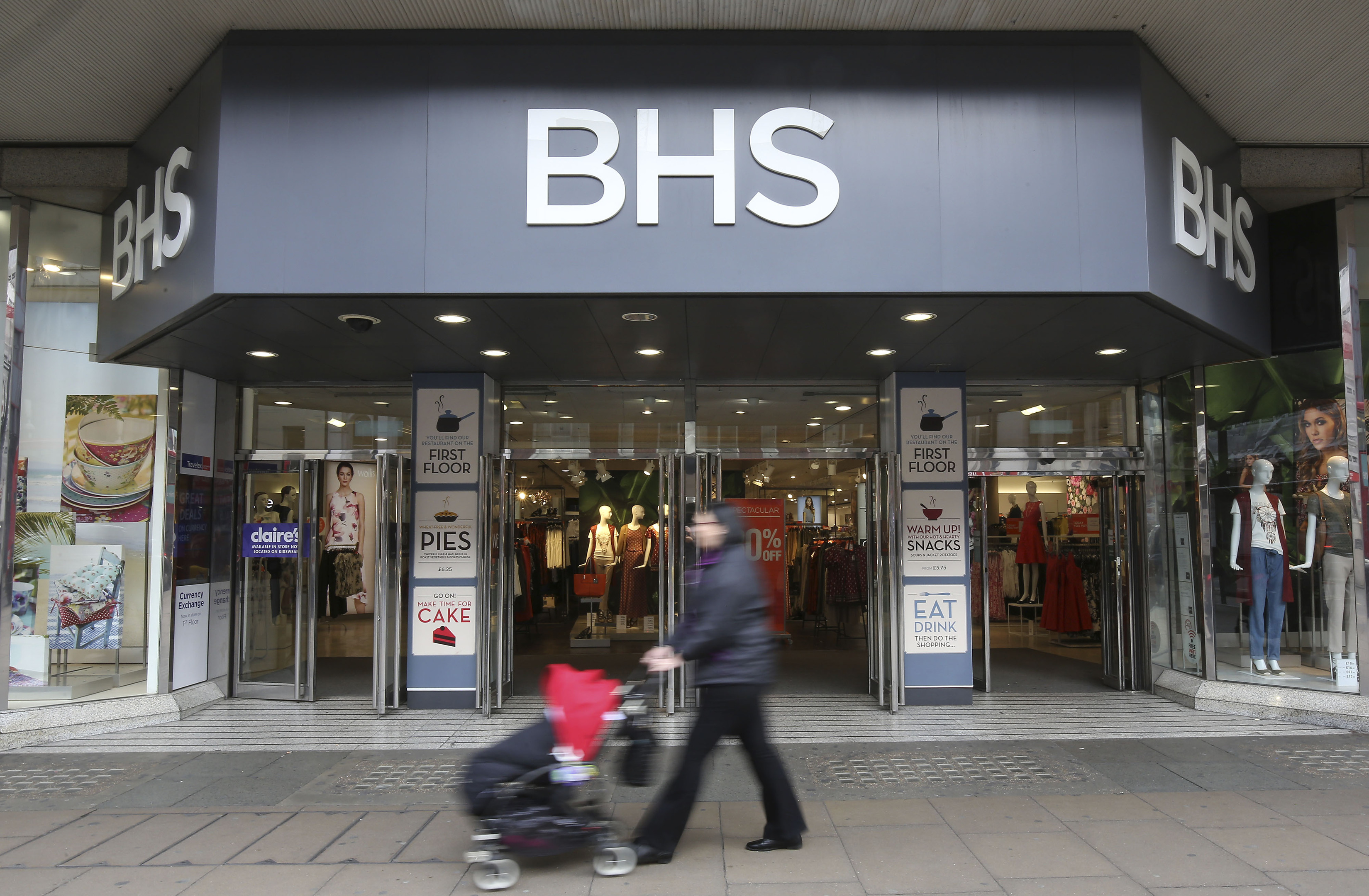 BHS (Philip Toscano/PA Wire)
