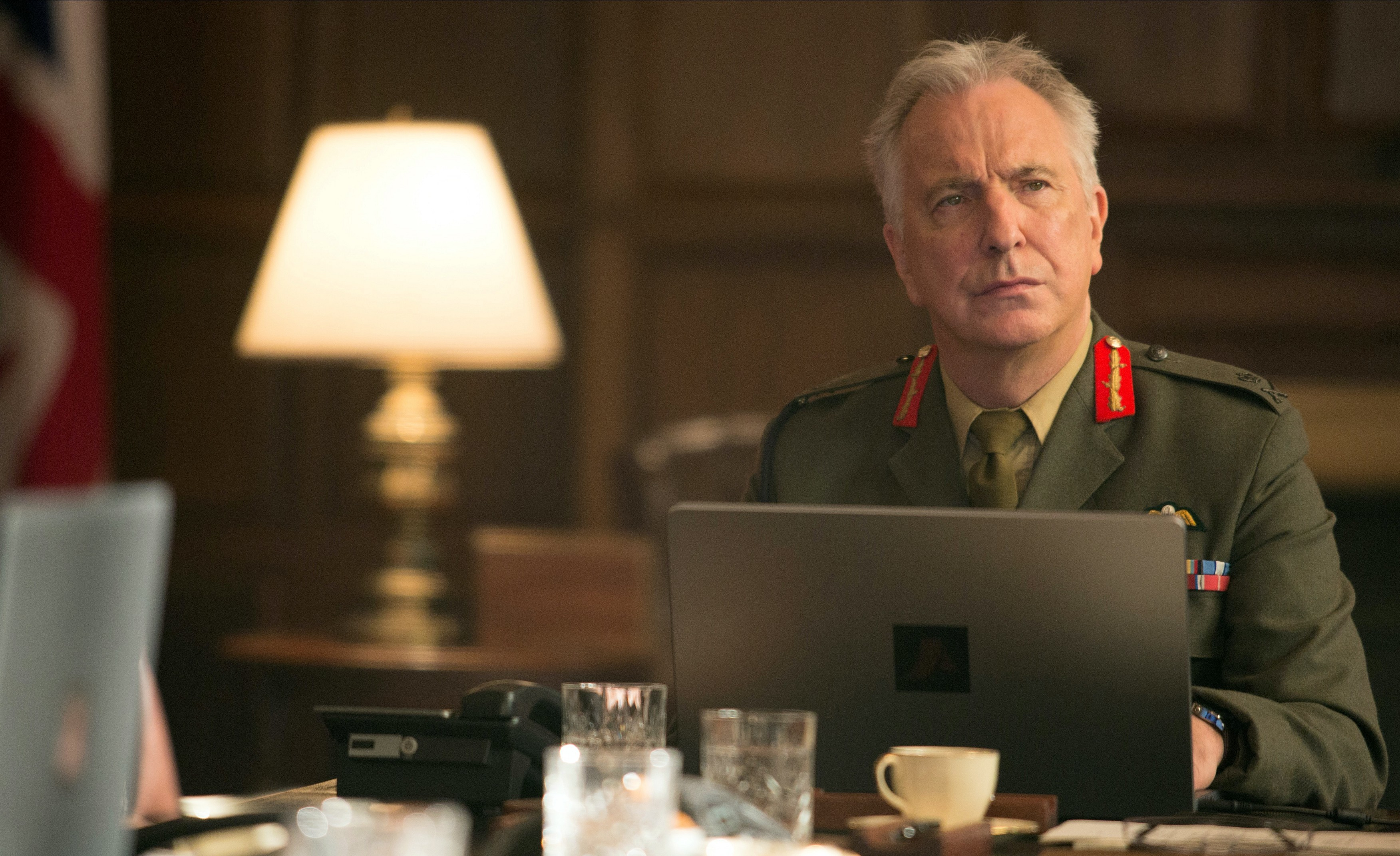 Alan Rickman in Eye in the Sky (Entertainment One Features)