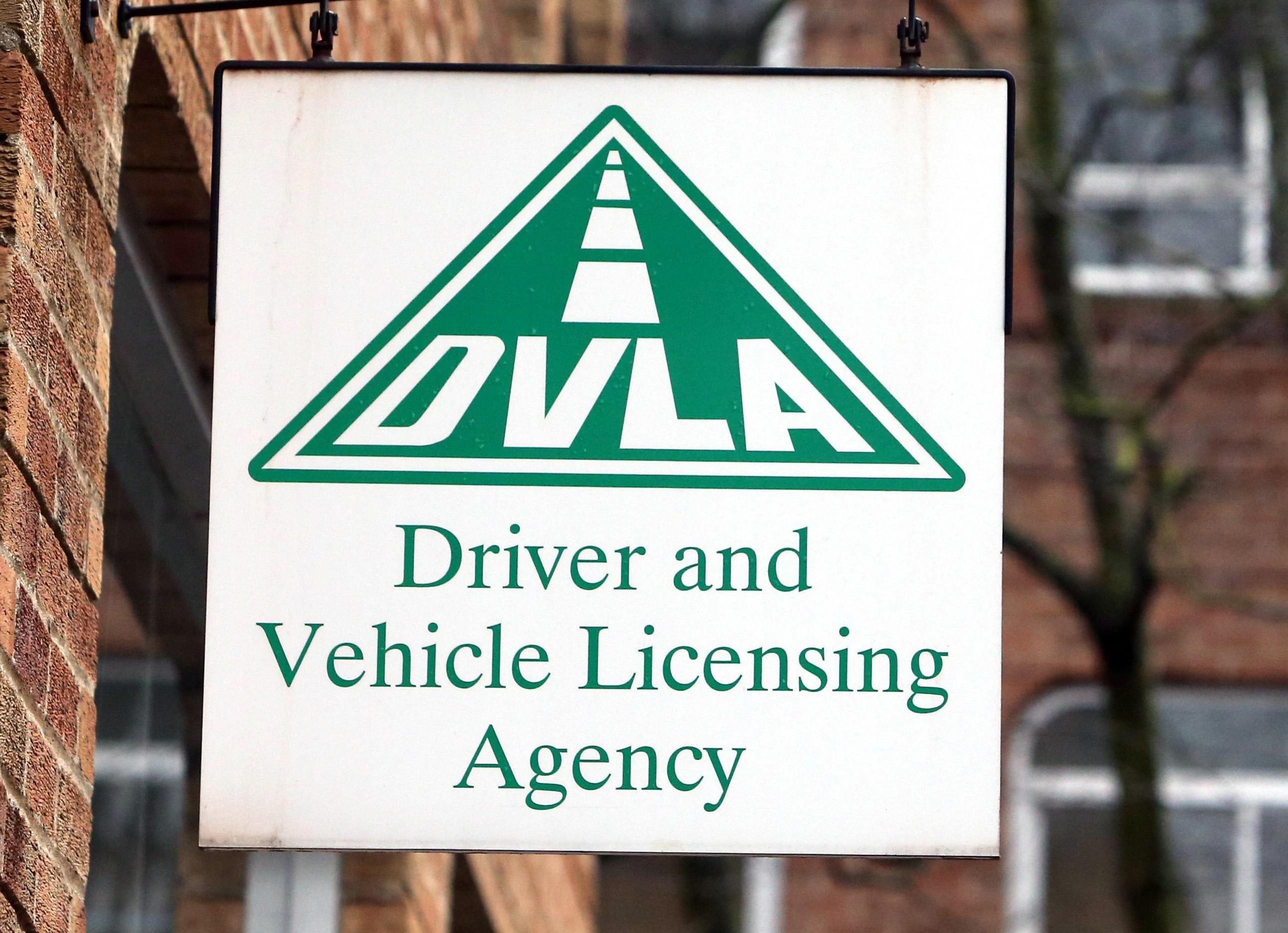 DVLA (Press Association)