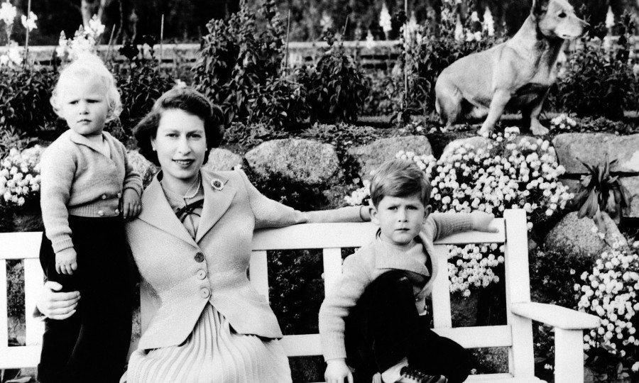 The Queen introduced her children – here Princess Anne and Prince Charles – to Scotland from a very early age, instilling a connection with the country that endures (PA)