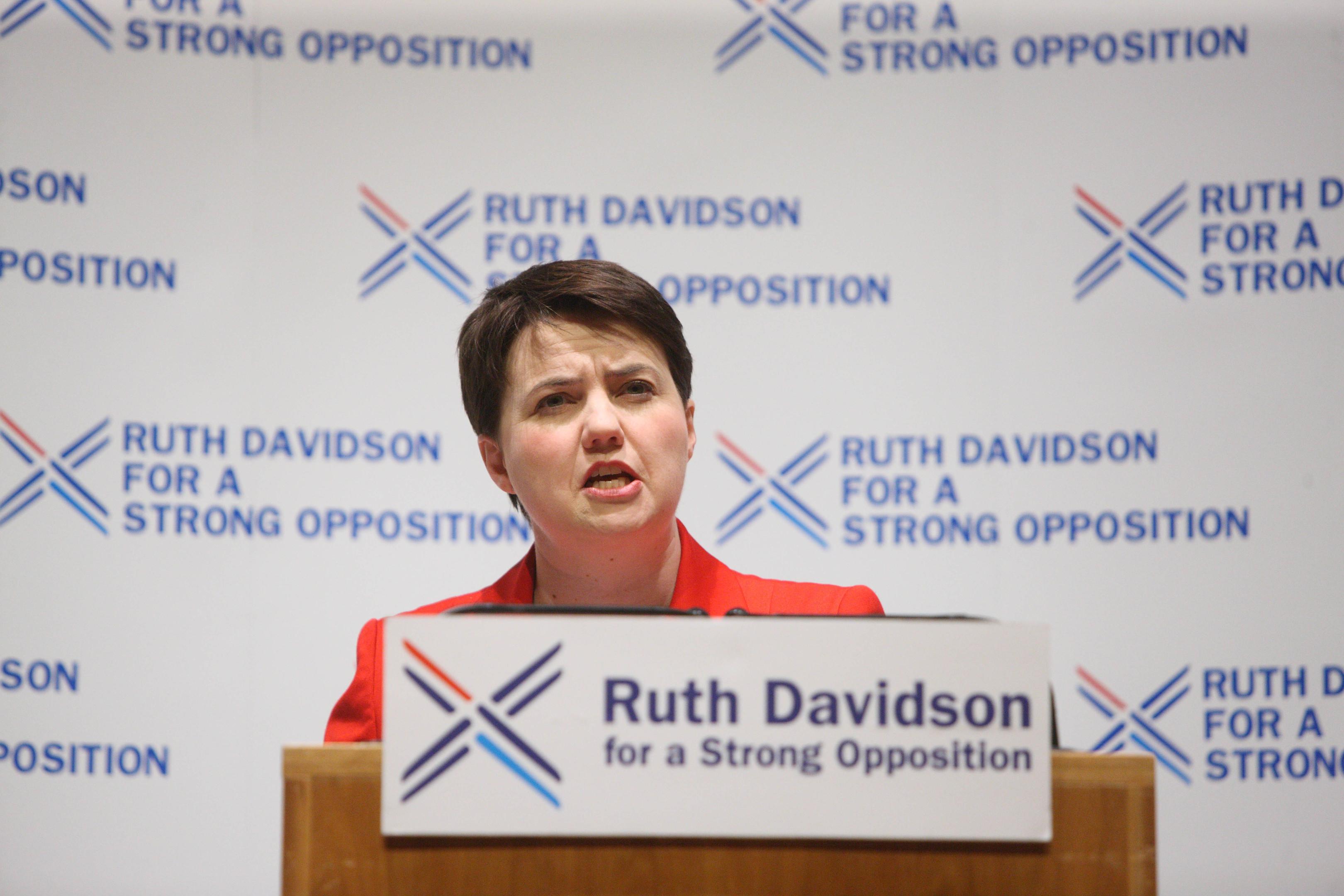 Ruth Davidson (Phil Hannah)