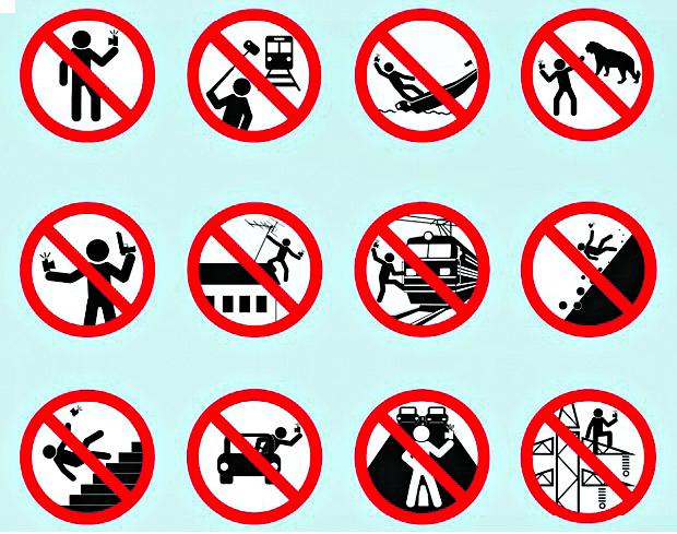 Selfie signs