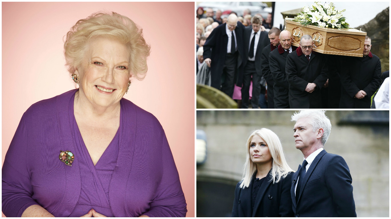 Denise Robertson's funeral was held in Sunderland today (Owen Humphreys/PA Wire)