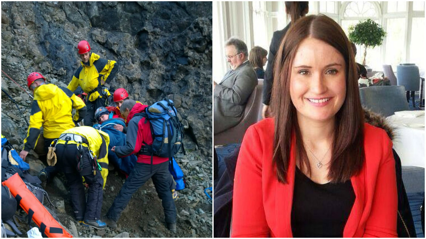 Fiona was saved by Skye Mountain Rescue