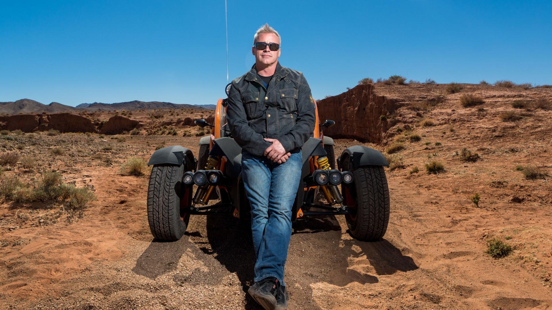 Matt LeBlanc in the new series of Top Gear (BBC / PA)