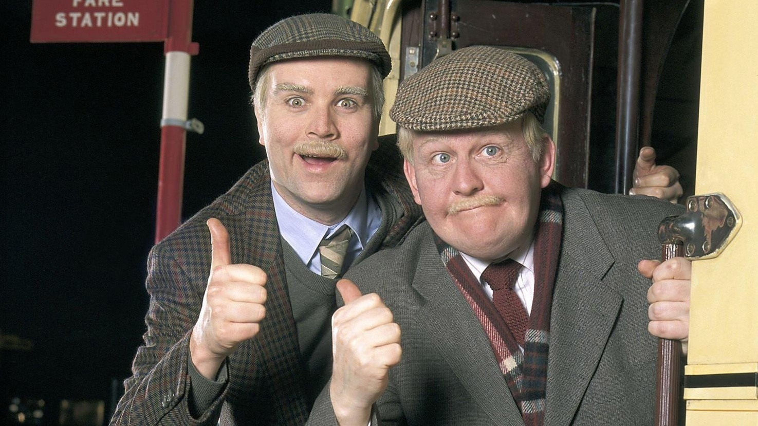 Greg and Ford as Jack and Victor (BBC / PA)
