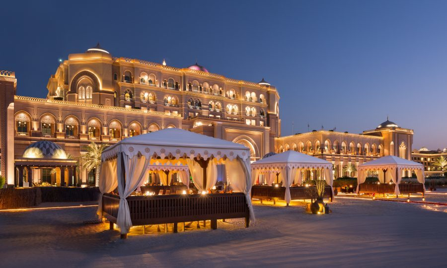 The Emirates Palace is only the second SEVEN star hotel in the world