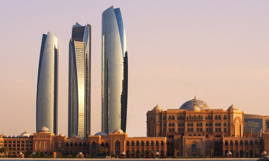 Etihad Towers & Emirates Palace (Saeed Jumoh)