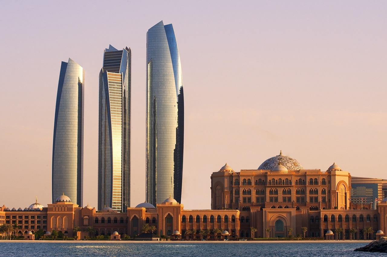 Etihad Towers & Emirates Palace (Saeed Jumoh)