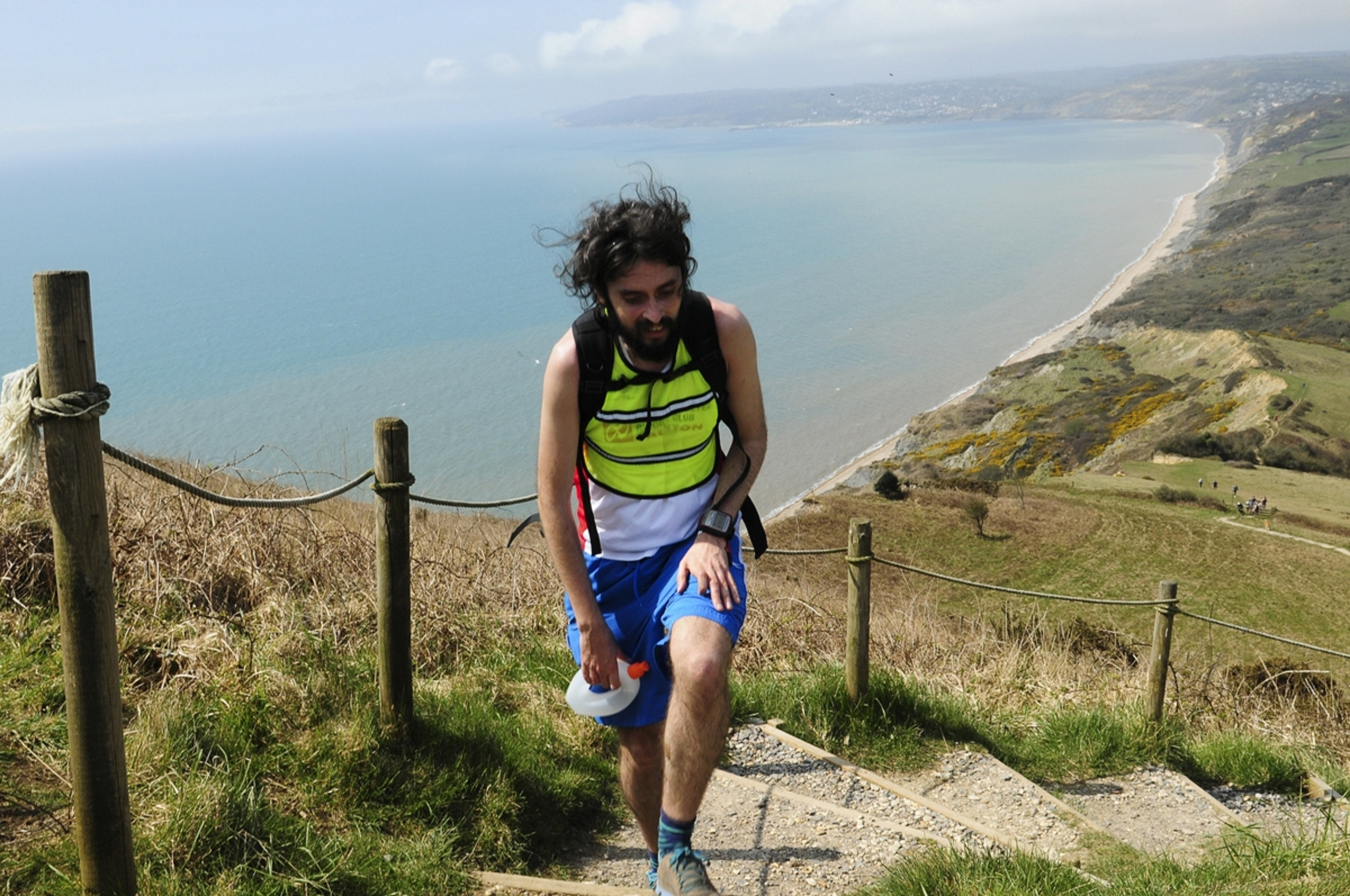 Dave now runs ultra marathons up to 80 miles long (Charles Whitton Photography)