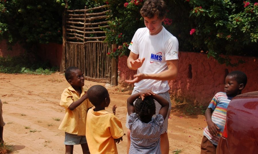 Will is no stranger to working abroad, having already spent time in Ghana.