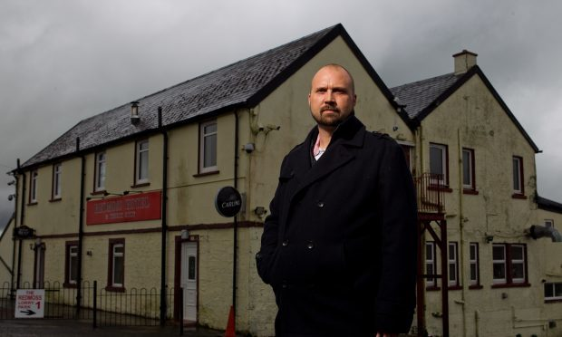Arpad Halasz, who works at the Red Moss Hotel and Truckstop (Andrew Cawley / DC Thomson)