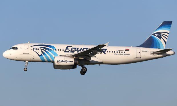 An EgyptAir flight (AP Photo/Kevin Cleynhens)