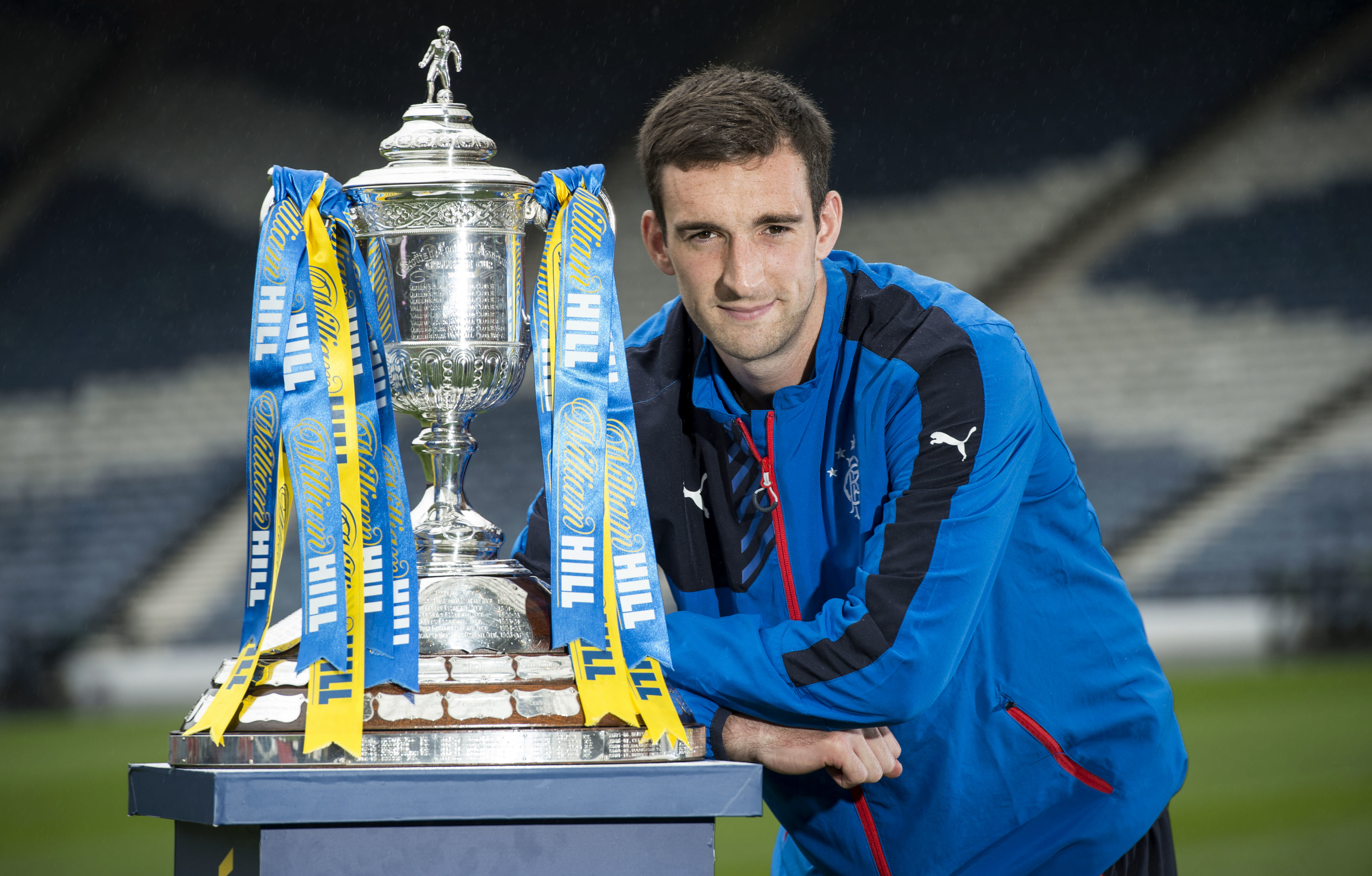 Rangers captain Lee Wallace (SNS Group / Craig Williamson)