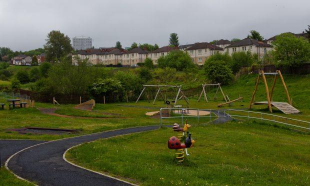 Mavisbank Park, in Airdrie (Andrew Cawley/DC Thomson)