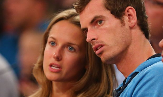 Andy Murray and Kim Sears (Al Bello/Getty Images)