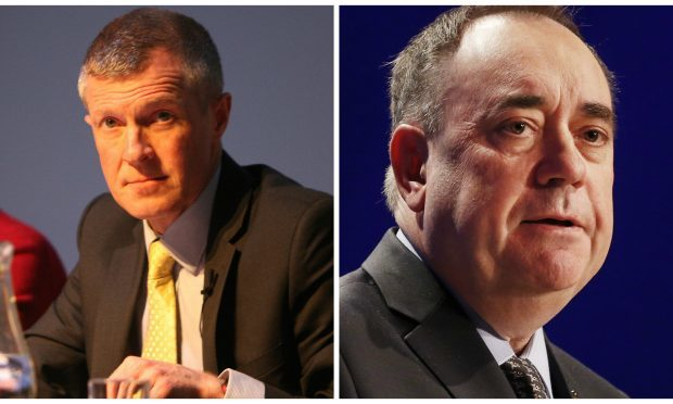Rennie (left) and Salmond (Kris Miller / DC Thomson & Danny Lawson / PA Wire)