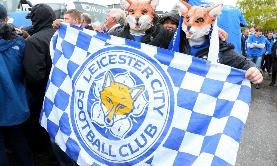 Leicester City fans (PA)