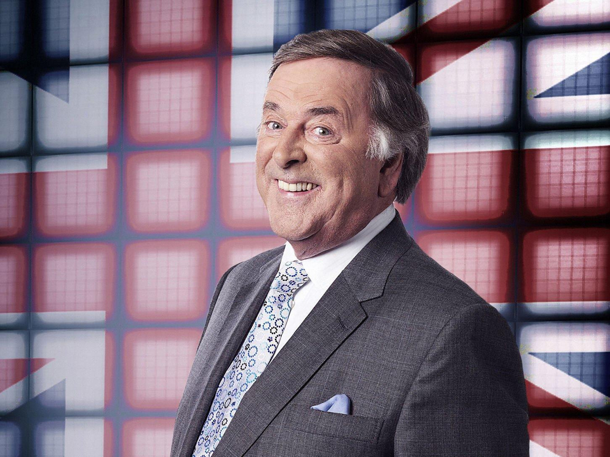 Terry Wogan hosting the Eurovision Song Contest 2008 (BBC / PA)