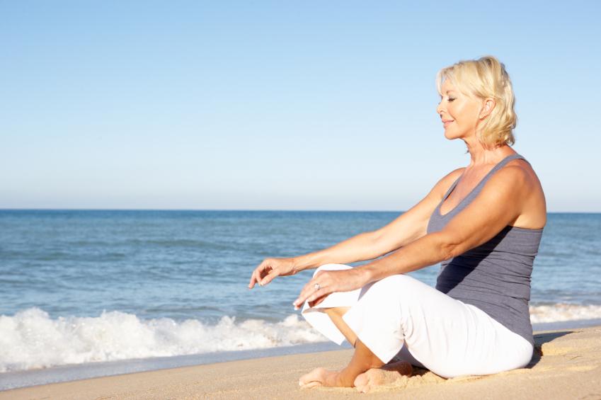 Meditation and yoga fight against Alzheimer's (monkeybusinessimages)