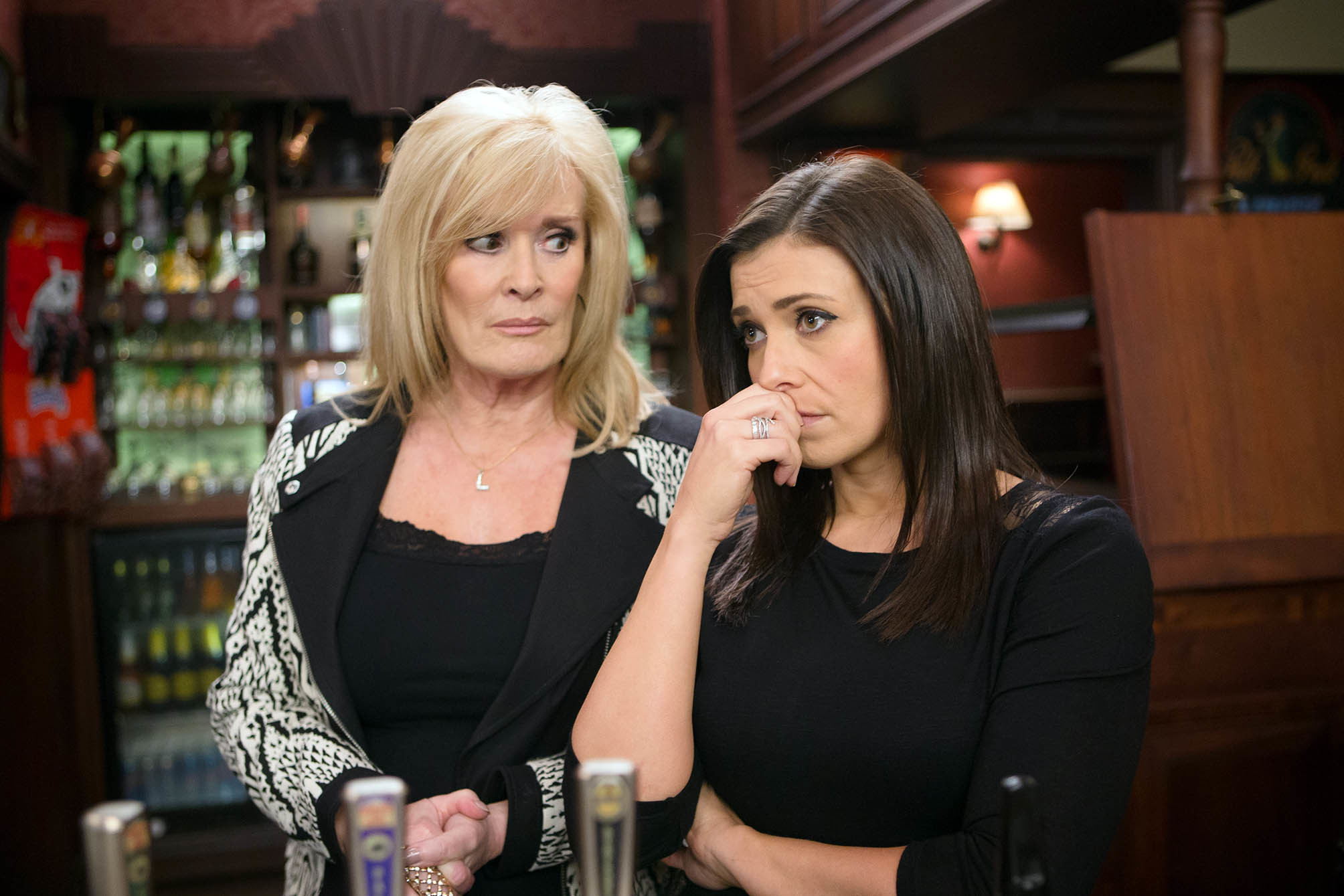 Coronation Street Characters Liz Mcdonald Beverley Callard And Michelle Connor Kym Marsh