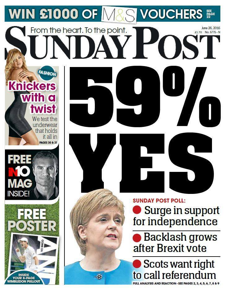 Today's Sunday Post