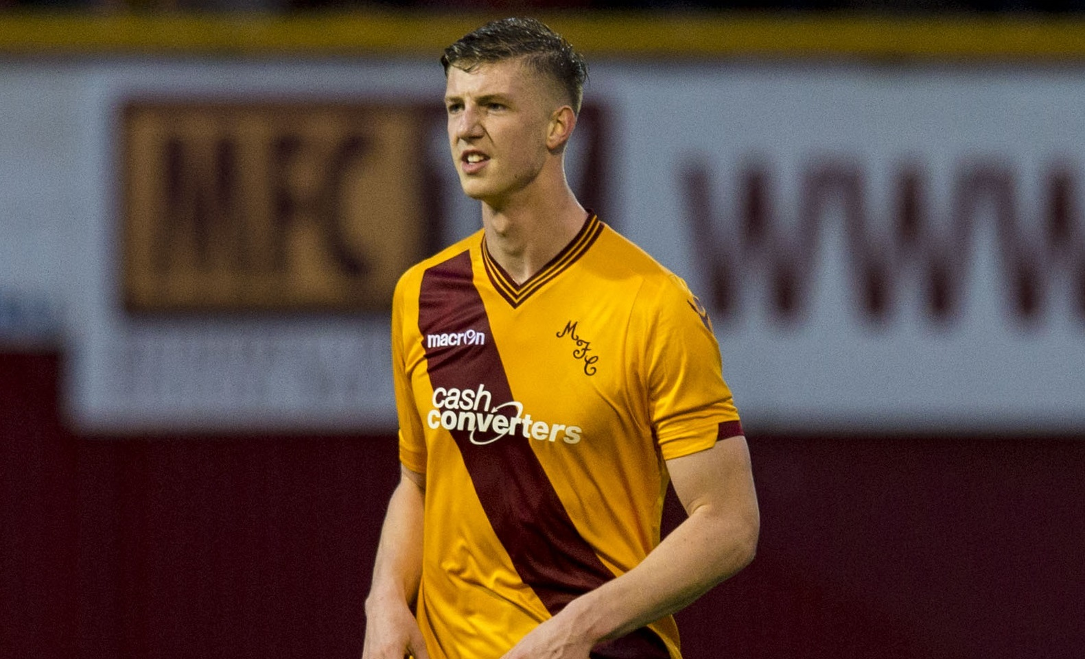 Ben Hall in action for Motherwell (SNS Group)
