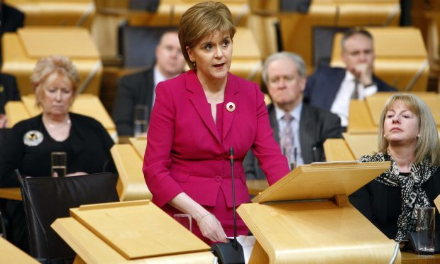 Nicola Sturgeon (Andrew Cowan/Scottish Parliament)