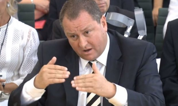 Sports Direct boss Mike Ashley gives evidence to the Business, Innovation and Skills Committee (PA Wire)