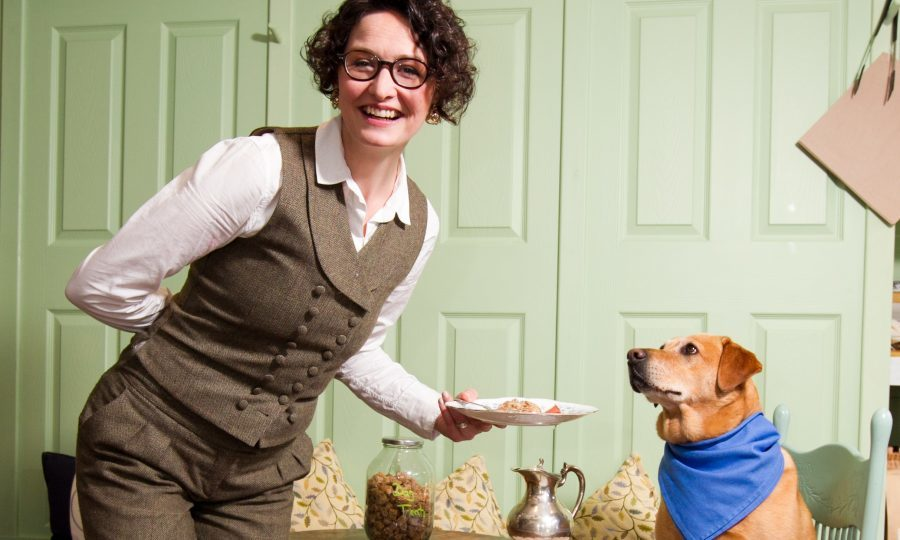 Anne Schaeflein and her dog Lana (Andrew Cawley / DC Thomson)