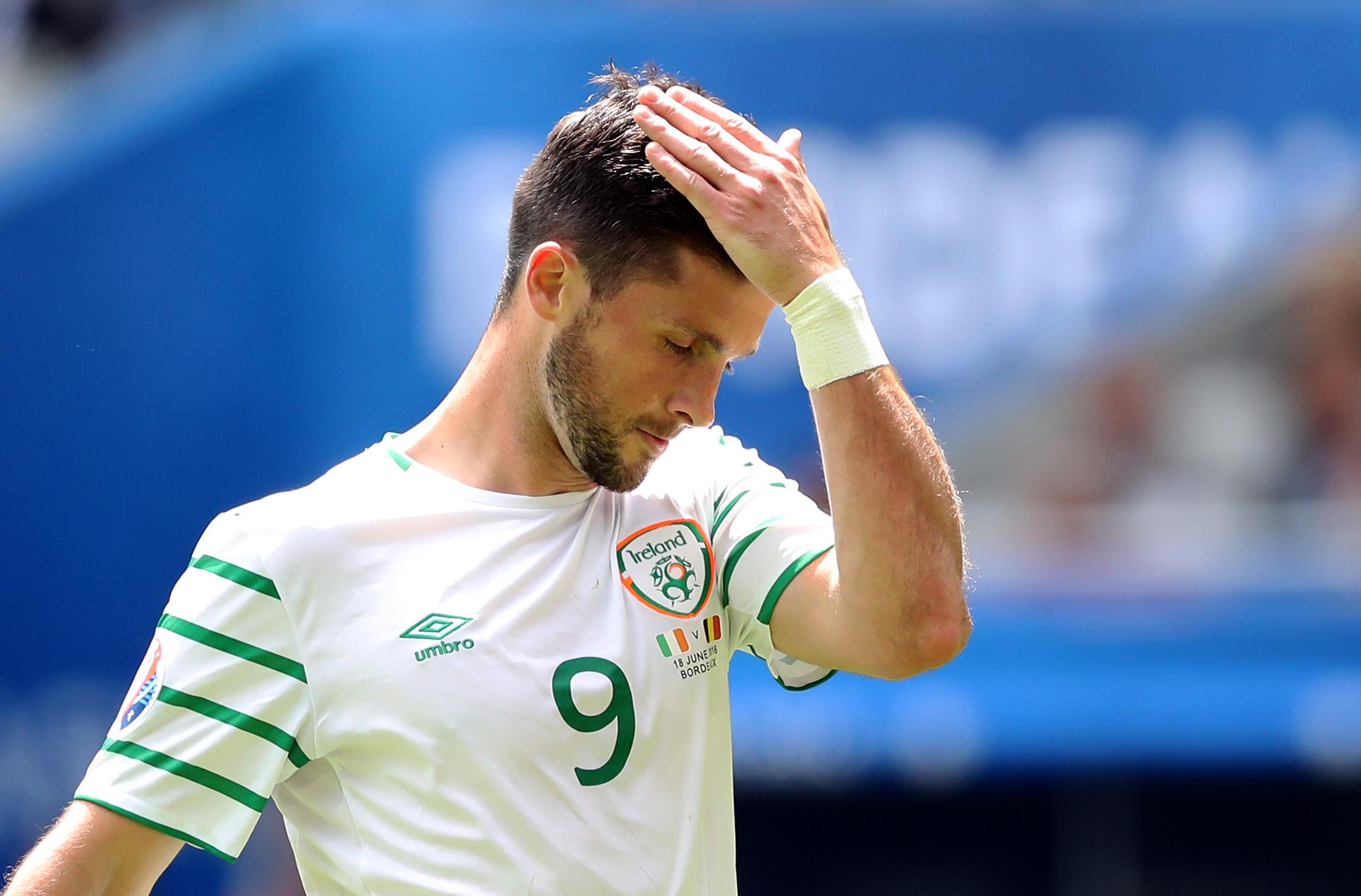 Republic of Ireland's Shane Long (Martin Rickett/PA Wire)