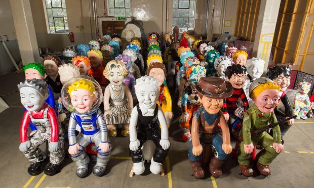 An Oor Wullie army! (Chris Austin / DC Thomson)