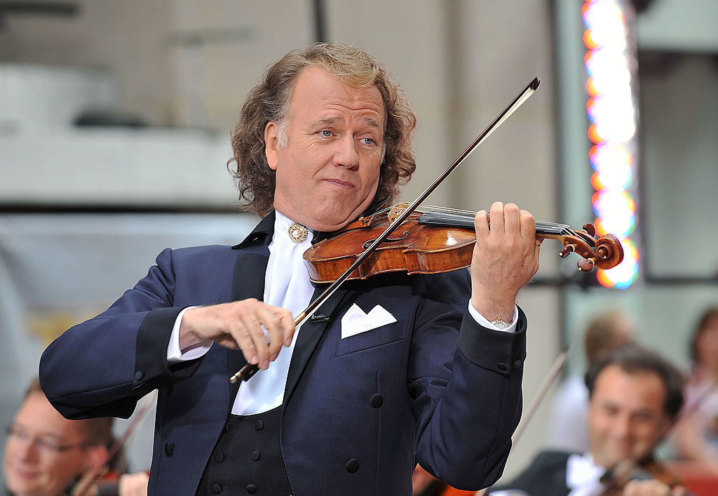 Dutch violinist Andre Rieu (Slaven Vlasic/Getty Images)