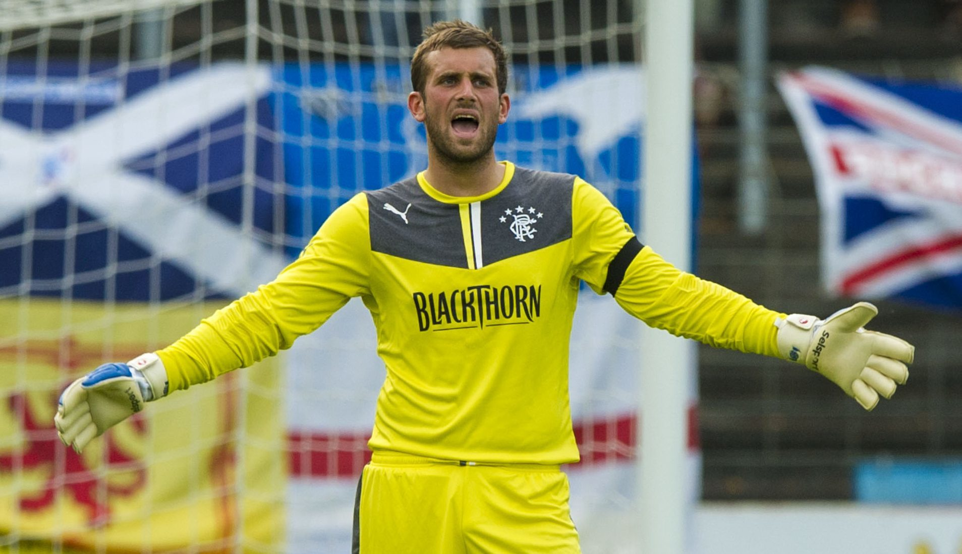 Cammy Bell in action for Rangers (SNS Group / Alan Harvey)
