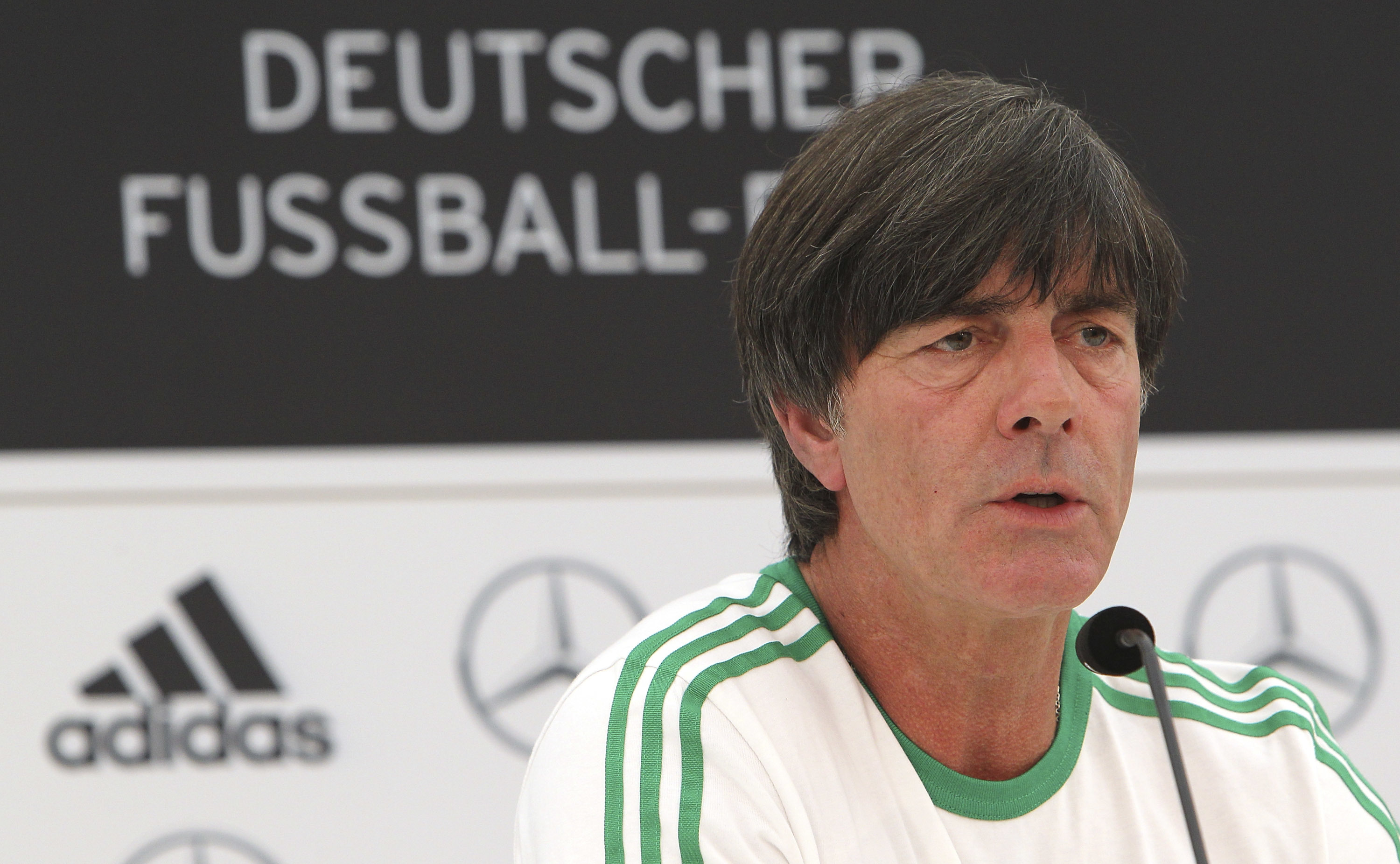 Germany coach Joachim Low (Marco Luzzani/Bongarts/Getty Images)