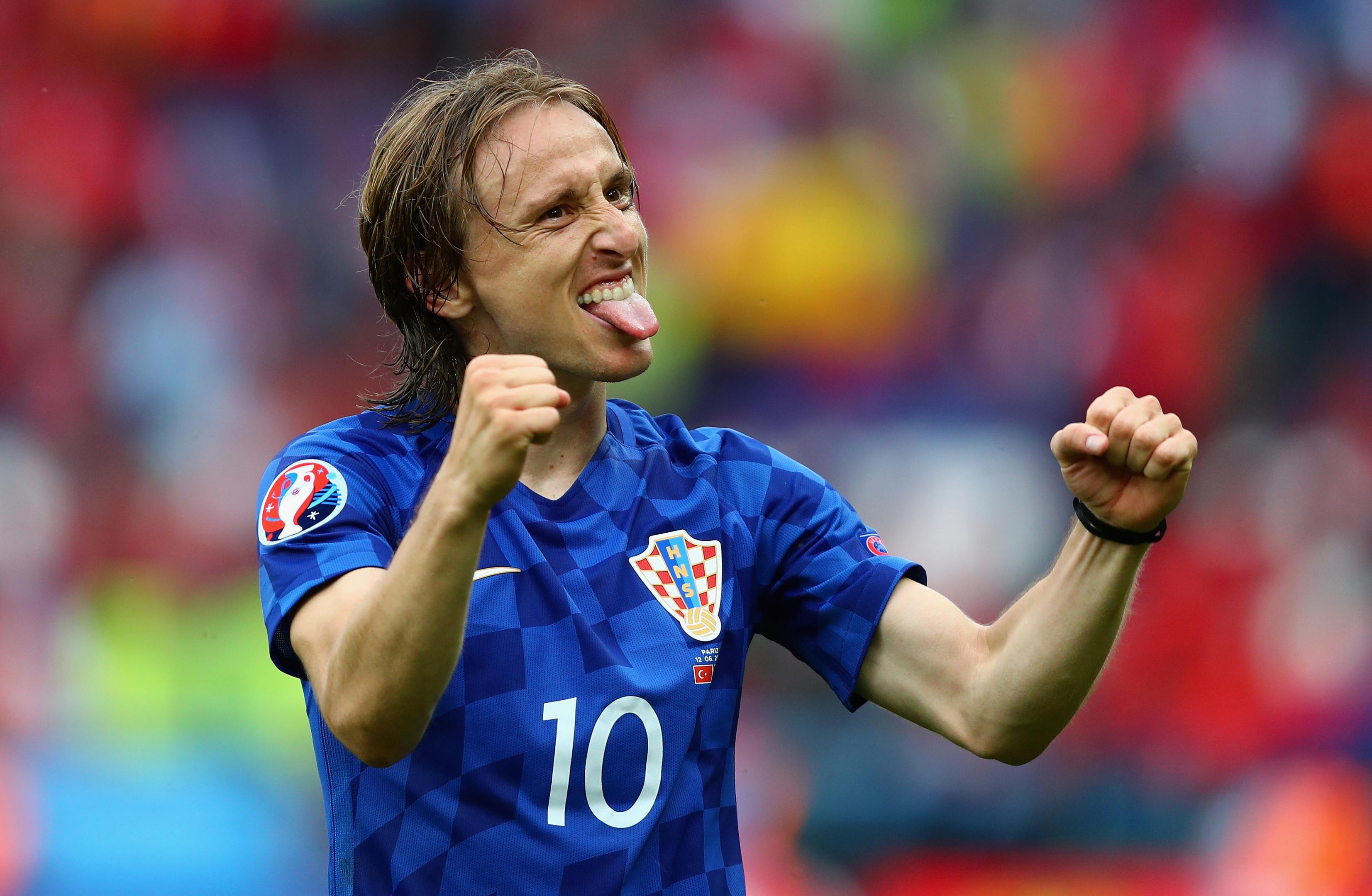 Luka Modric of Croatia  (Clive Rose/Getty Images)